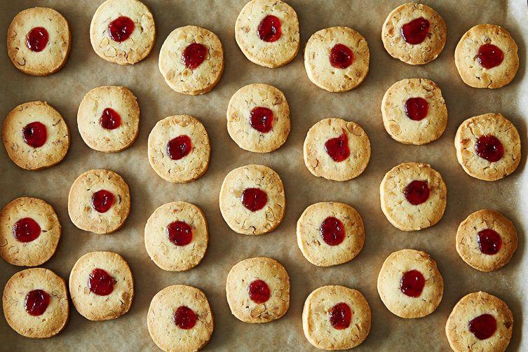 Strawberry-Kissed Walnut Sablés on Food52