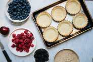 Berry and Frangipane Tartlets