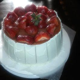 Strawberry Dream pound cake