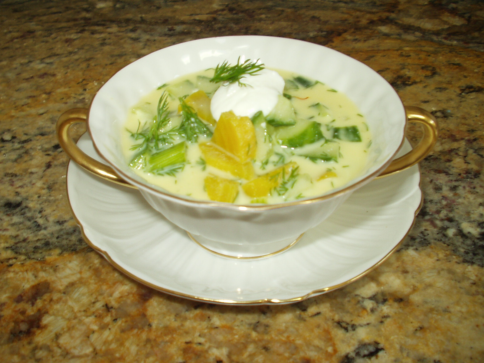 Golden Beet Summer Soup