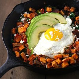 Mexican-chorizo-and-sweet-potato-hash