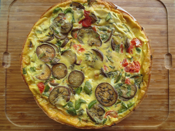 Vegetable Harvest Frittata