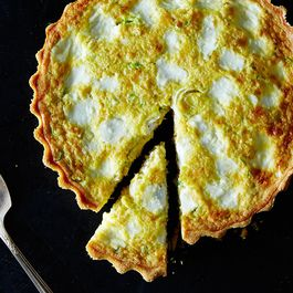 quiches and pies