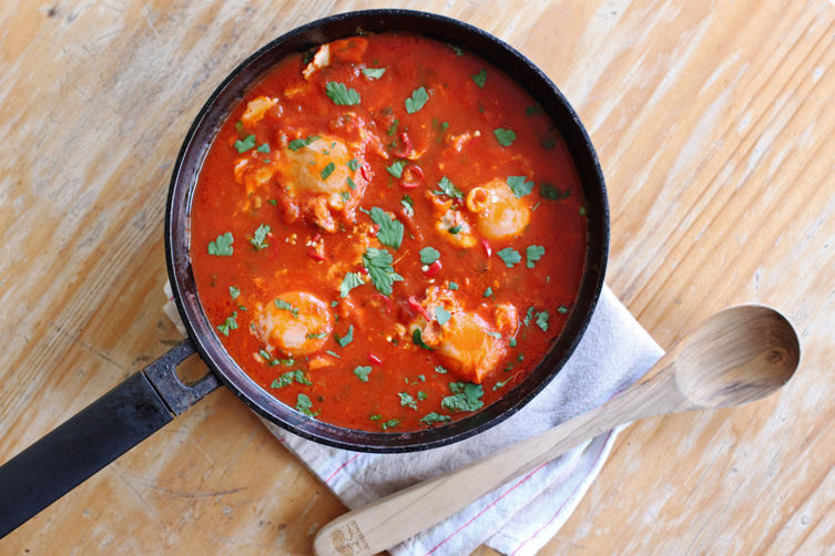 Eggs Poached in Tomato Sauce (Uova al Pomodoro)