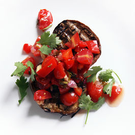 Grilled Eggplant with Summer Tomato Salsa