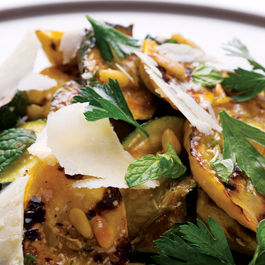Chargrilled Courgette Salad