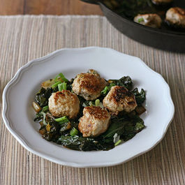 Ginger_garlic_chicken_meatballs_with_bok_choy_5_-_850x