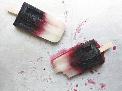 Blackberry Ice Pops on Food52