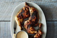 Kevin Gillespie's Barbecue Chicken with Alabama White Barbecue Sauce