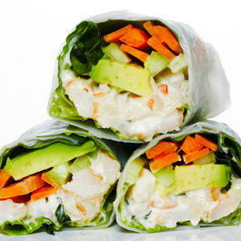 Shrimp Rice Paper Roll