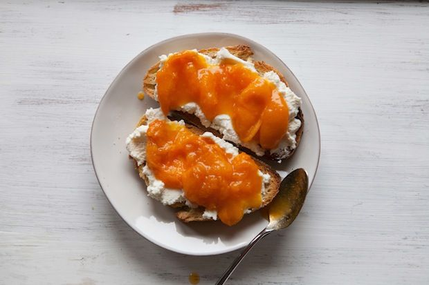 Orange Ricotta Pillows With Lillet Kumquat Compote Recipes ...