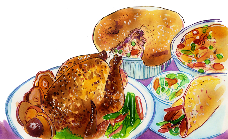 How to Roast a Chicken - by Nancy Taylor Robson