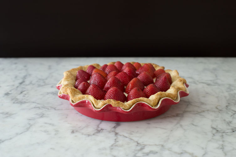 Strawberries n' Cream Pie