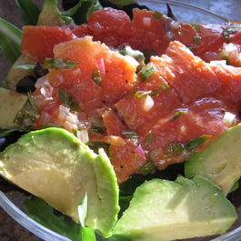 Lox and Avocado Summer Salad
