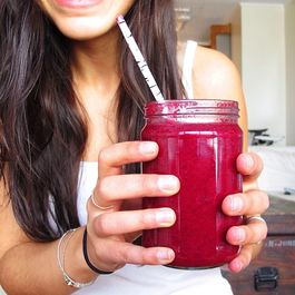 The Hot Pink Monkey Smoothie