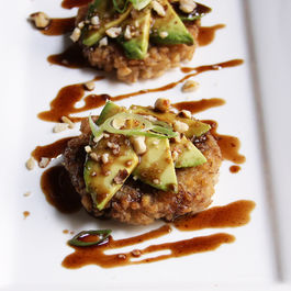 Crispy Barley, Avocado & Brown Butter Balsamic