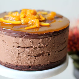 Orangemoussecake