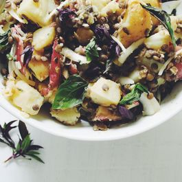 Herby_french_potato_salad_w__thai_basil___garlic_scapes________________