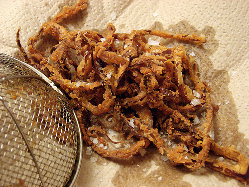 Red Hot Onion Rings