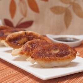Homemade Chinese Chicken Pot Stickers