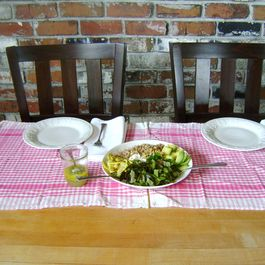 Avocado, Zucchini and Farro Salad.