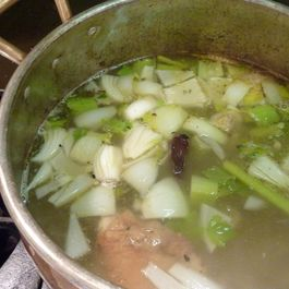 Chicken Stock with Mexican Twist