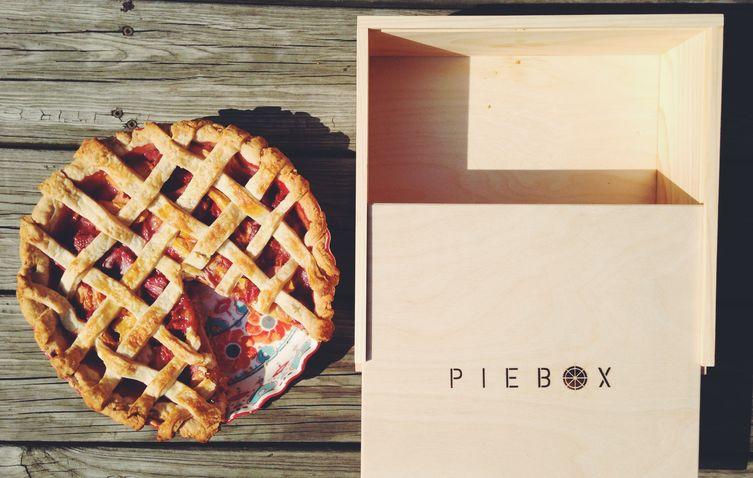 Peach & Strawberry Pie