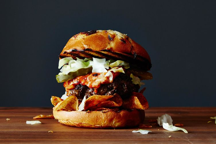Texas Tailgate Burger on Food52