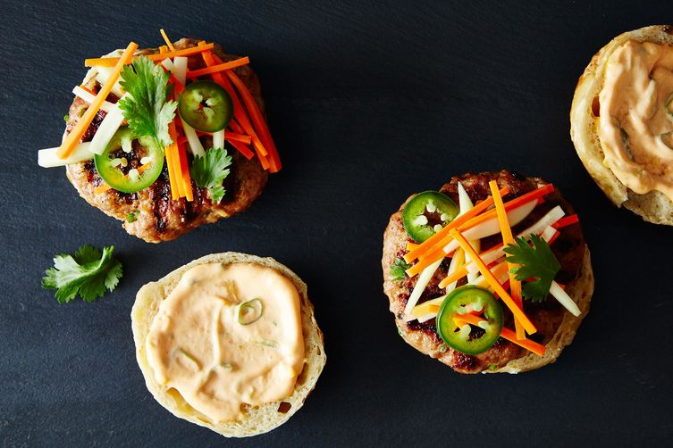 Bahn Mi Burgers on Food52