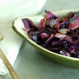 Salty Sweet Roasted Cabbage