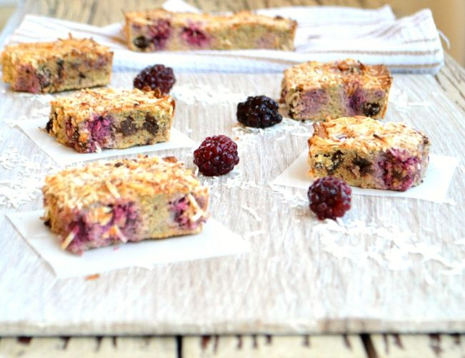 Gluten-Free Coconut Raspberry Bars