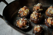 Creamy Sausage-Stuffed Mushrooms