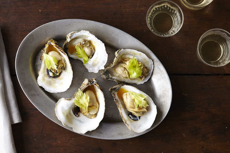 https://food52.com/blog/10912-kristen-kish-s-oysters-with-caramelized-honey-tomato-broth-celery-leaves-and-chili?preview=true