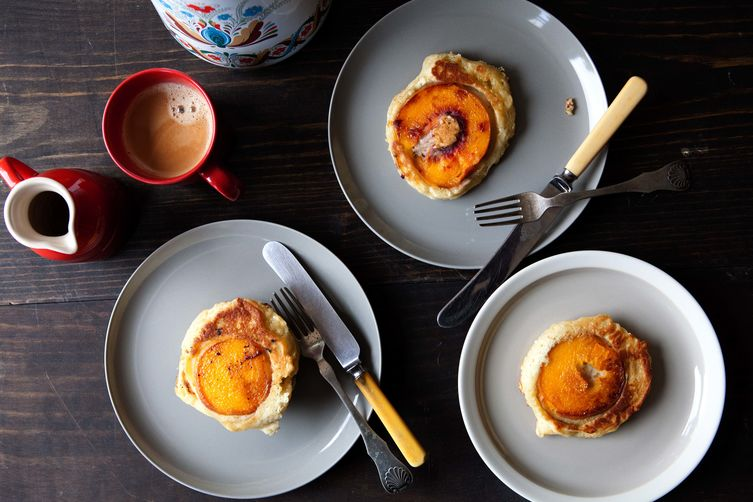 Caramelized Peach Pancake on Food52