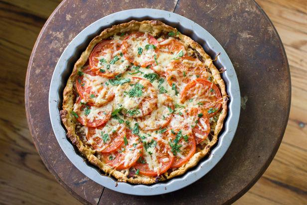 Spicy Tomato Tart