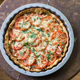 Spicy Tomato Tart