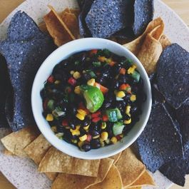 Homemade Black Bean Dip