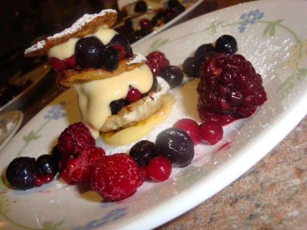 Wild Berry Mille-Feuille