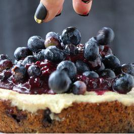 Blueberry & Lemon Snacking Cake