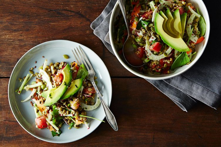 French Lentil, Kamut, and Avocado Salad on Food52