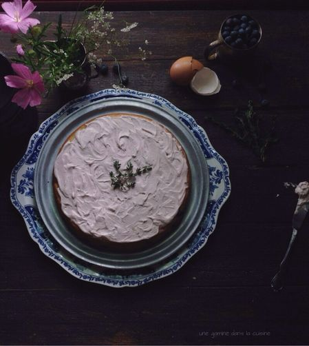 Tangled up in Blue Cake