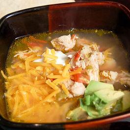 Spicy Chicken Fiesta Soup