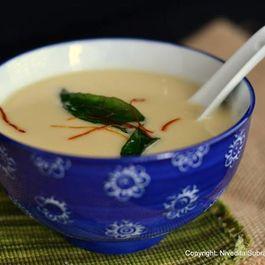 Mung Dal shorba (mung dal soup)