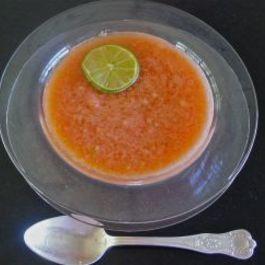 Sopa de Sandia (Watermelon Soup)