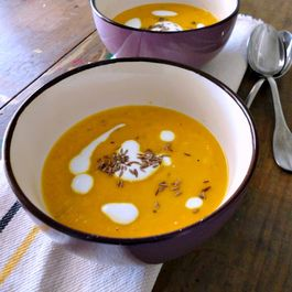 Carrot Honey-Ginger Soup
