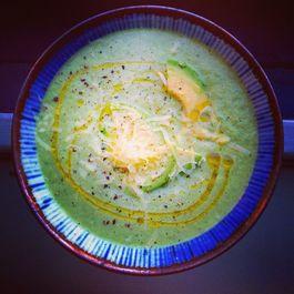 Grandma Rita's Lettuce Soup