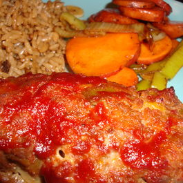 Red Curry Meatloaf