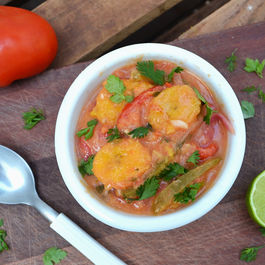 Brazilian Summer Plantain Stew (Moqueca)