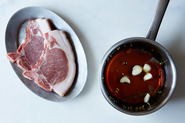 Simple Brine for Pork Chops