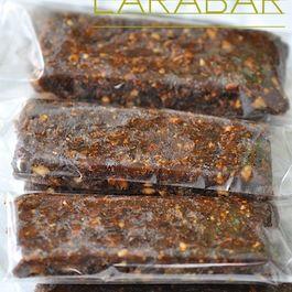 Homemade Larabar-ish fruit Bar